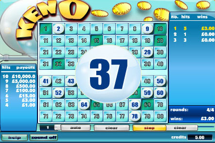 most popular keno numbers