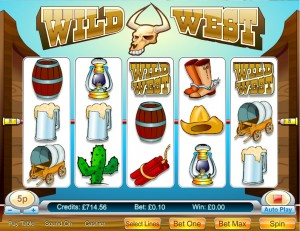 Wild West 5 Reel