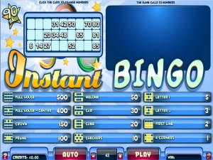 Instant Bingo 90