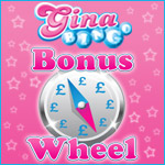 Spin the Wheel Free Everyday at Gina Bingo