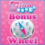 Spin the Wheel Free Everyday at Gina Bingo