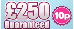250 guaranteed bingo